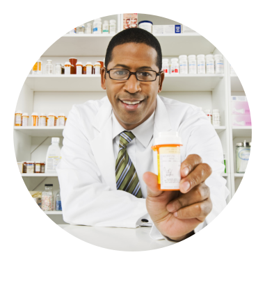 Black american pharmacist