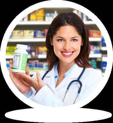 Woman pharmacist